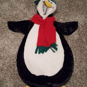 Penguin Holiday Halloween Costume Baby 0-9 Months